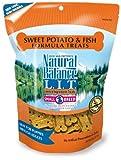 Natural Balance Sweet Potato and Fish Formula Dog Treats, 8-Ounce Bag, My Pet Supplies