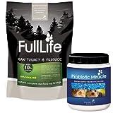 Probiotic Miracle (360 servings) + 50% off FullLife Grain-Free Dog Food (20 servings) (Turkey), My Pet Supplies