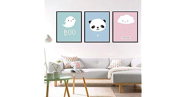 Amazon.com: Pintura decorativa para habitación de niños ...