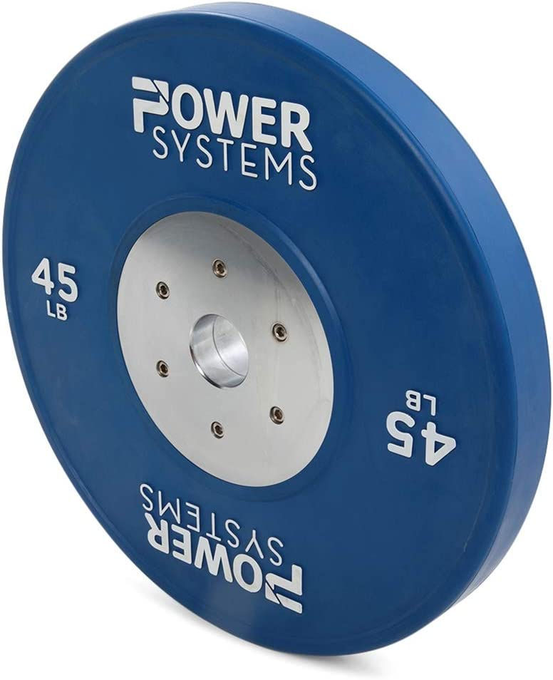 Power Systems Rubber Training Plate in Olympic Colors