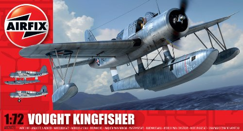 Airfix A02021 Vought Kingfisher Model Building Kit, 1:72 Scale