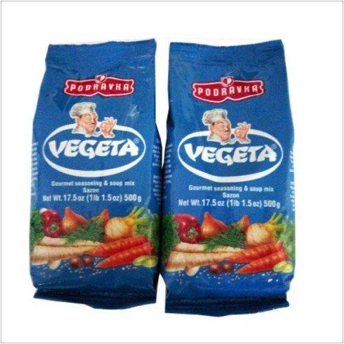 Vegeta - European Gourmet Seasoning, 500gr Plastic, Set of 2 by Indulgence
