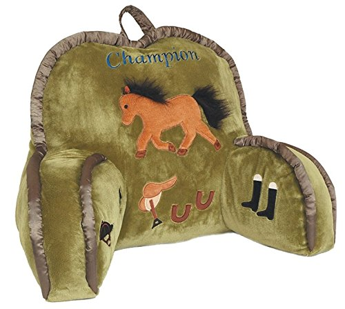 Carstens, Inc Champion Lounge Pillow, Multicolor (Lounge Derby)