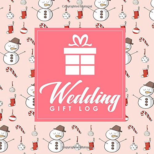 Wedding Gift Log Wedding Gift Log Book Gift Notebook Gift Journal