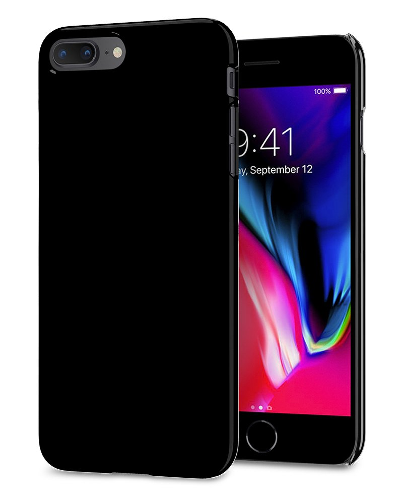 Funda Spigen iPhone 7/8 Plus [jet Black] Thin Fit