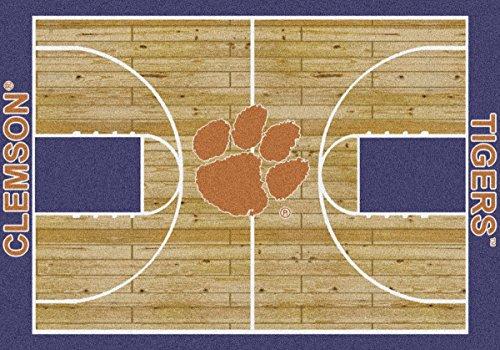 Clemson Tigers Milliken NCAA Home Court Area Rug (7'8