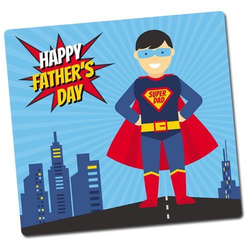 Super Dad Fridge Magnet