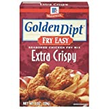 GOLDEN DIPT MIX FRY CHCKN XCRISPY, 8 OZ