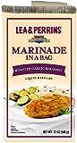 Lea & Perrins Marinade, Roasted Garlic Balsamic, 12oz