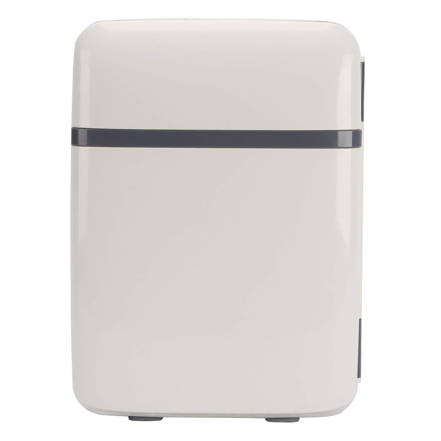 ZXZV 10L car Refrigerator Mini Refrigerator car Gift Refrigerator, Dual-use Frozen Box, Suitable for Outdoor Home Refrigeration (Color : Gray, Size : 285x195mm)