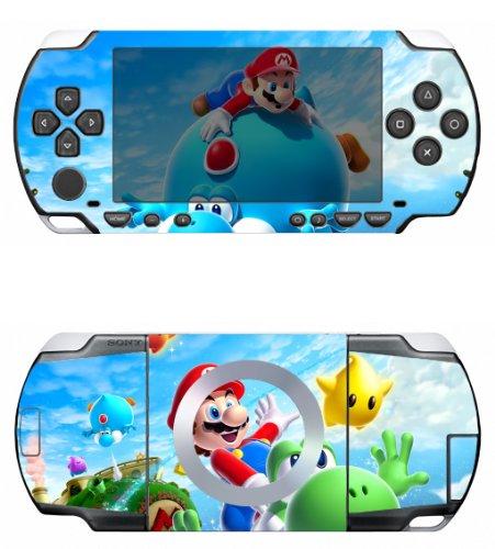 Super Mario Galaxy Vinyl Decal Skin Sticker for Sony PSP 1000