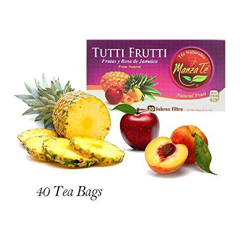Tea, 40 Tea Bags, from Costa Rica (Costa Rica Fruits)