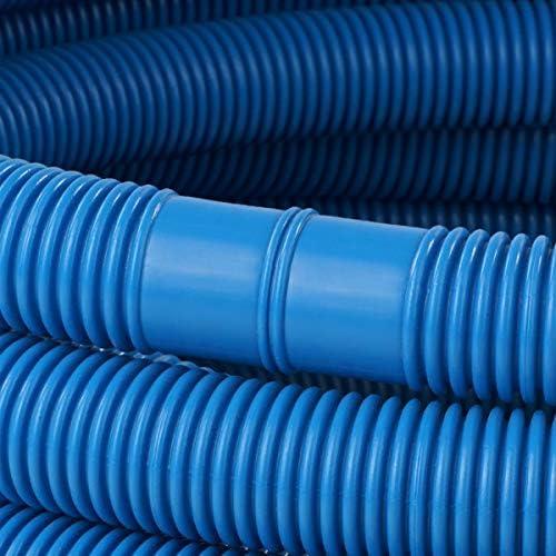 Schlauch24 Manguera para Piscina (diámetro 32 mm), Color Azul, 1 ...