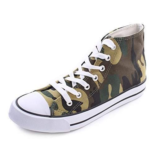 Fitters Scarpe Verde Camouflage 36 stringate 41 Footwear donna rr4pO