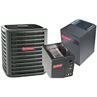 3 Ton Goodman 18 SEER R410A Two-Stage Variable Speed Upflow Heat Pump Split System (15 Kilowatt)