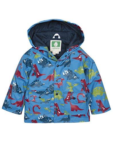 OAKI Children's Rain Jacket, Dinosaurs 8
