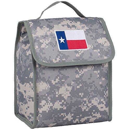 Texas Flag Lunch Bag - Digital Camo (State Box Lunch)