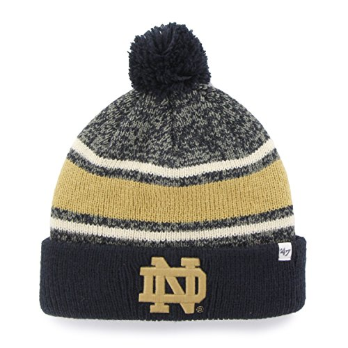 NCAA Notre Dame Fighting Irish '47 Fairfax Cuff - Basketball Beanie With Pom