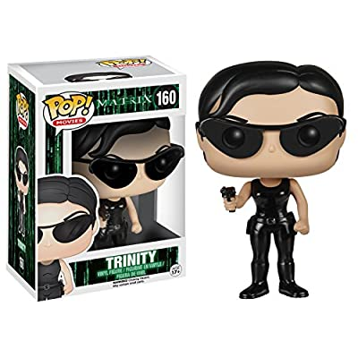 Funko POP Movies: The Matrix - Trinity Action Figure: Funko Pop! Movies:: Toys & Games