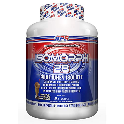 APS Nutrition IsoMorph, AAA-rated Pure/Highest Quality Whey Isolate Protein Supplement, Chocolate Milk Shake, 5 Pound