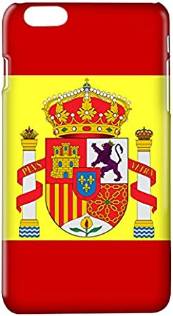 Funda carcasa bandera España escudo para Samsung Galaxy S6 plástico rígido: Amazon.es: Electrónica