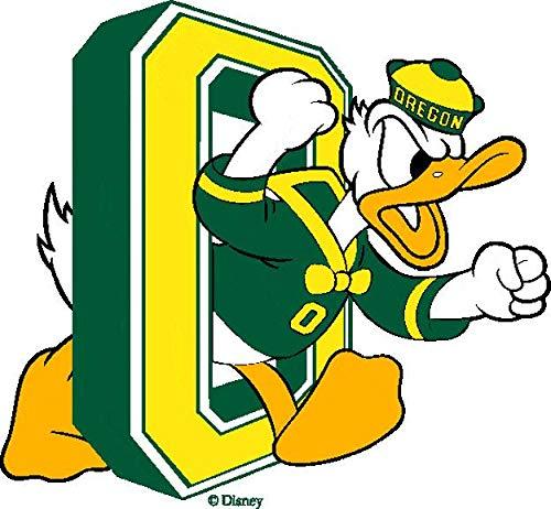 University of Oregon Ducks Logo Sports Mascot Edible Cake Topper Image ABPID03243 - 1/8 sheet