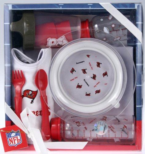 - Tampa Bay Buccaneers NFL Football Newborn Baby Necessities Gift Set