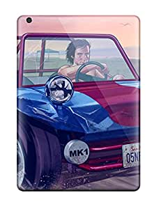 Nick Watson's Shop Lovers Gifts Snap-on Grand Theft Auto V Case Cover Skin Compatible With Ipad Air