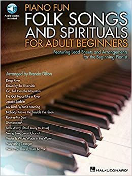Book Piano Fun - Folk Songs and Spirituals for Adult Beginners