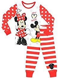 Disney Minnie Mouse Girls' Minnie Mouse Pajamas