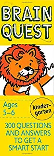 Brain Quest Kindergarten, revised 4th edition: 300 Questions and Answers to Get a Smart Start (Brain Quest Decks) (0761166602) | Amazon Products