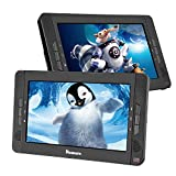 """Best Car DVD Players - 10.1"""" Dual Portable DVD Players for Car, Dual Review"""