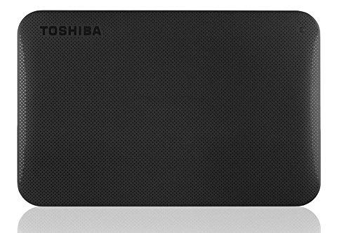 Toshiba Canvio Ready – Disco Duro Externo de 1 TB, 2.5″, Color Negro