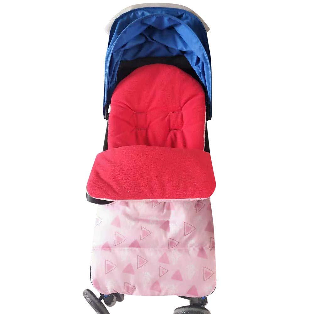 Mitlfuny Invierno Algodón Swaddle Wrap Saco de Dormir para Bebé Niños Mantas Envolvente Recién Nacido Cubierta del Pie Cochecitos Sillas Cunas 0-12 Meses ...