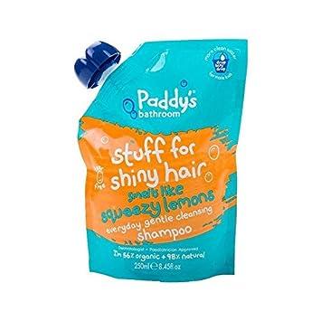 Paddys Bad Shampoo Quietschsauber Zitrone 250 Ml - Packung mit 6