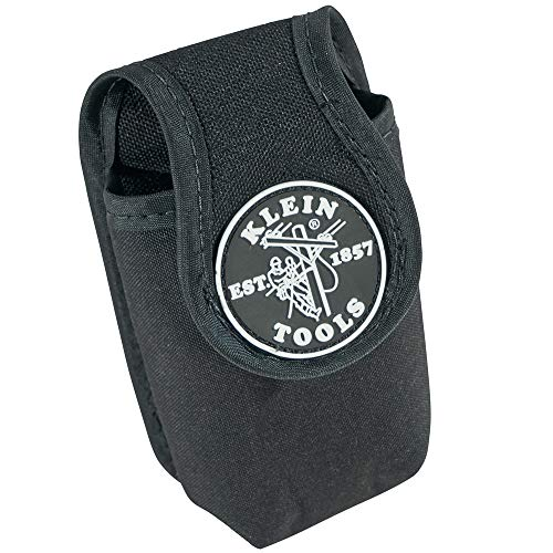 Klein Tools 5715 PowerLine Mobile Phone Holder, Black Nylon, Large