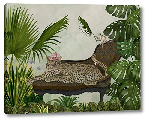 Leopard Chaise Longue by Fab Funky - 9