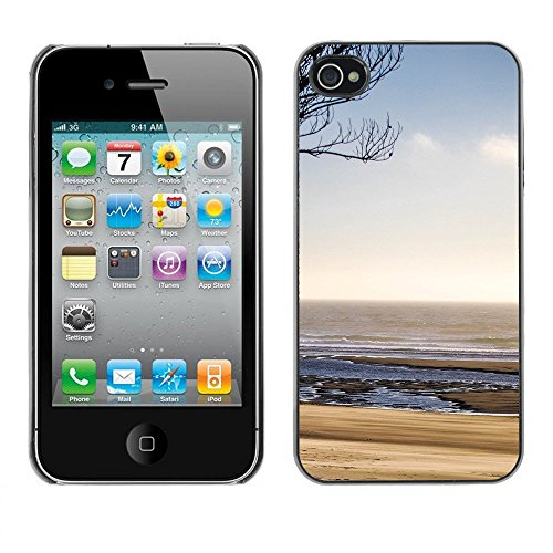 Premio Sottile Slim Cassa Custodia Case Cover Shell // F00001418 paysage // Apple iPhone 4 4S 4G