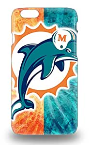 Iphone 6 Hybrid Tpu 3D PC Case Cover Silicon Bumper NFL Miami Dolphins Logo ( Custom Picture iPhone 6, iPhone 6 PLUS, iPhone 5, iPhone 5S, iPhone 5C, iPhone 4, iPhone 4S,Galaxy S6,Galaxy S5,Galaxy S4,Galaxy S3,Note 3,iPad Mini-Mini 2,iPad Air )