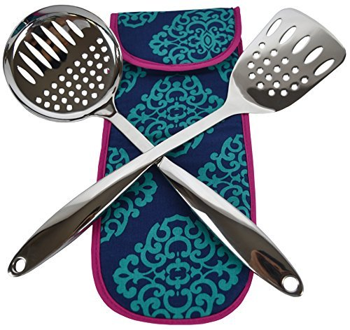 crate-barrel-stainless-steel-utensils-spatula-and-skimmer-set-free-thermal-bag-purple-bag-013