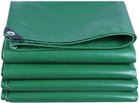 Lonas Lona Impermeable a Prueba de Agua Tela Verde Carpa toldo Lona de Lona en Poncho Familia Camping Jardín en Exteriores Tiene Capa Protectora, Grosor 0.5mm, 550g / m2, 6 Opciones de: