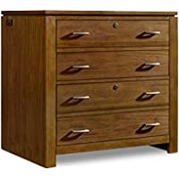 Hooker Furniture Viewpoint 2 Drawer Lateral File Cabinet in Walnut