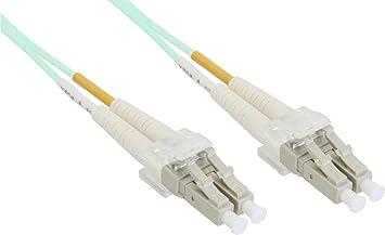 LC//15m InLine LWL Duplex Kabel