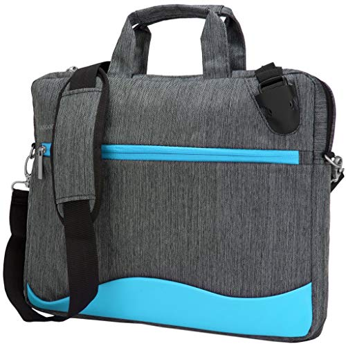 13.3 Inch 14 Inch Laptop Anti Theft Buckle Shoulder Bag Briefcase Fit HP, Lenovo, MSI, Dell, Magenta, Sky Blue (Dell Inspiron 23 All In One Pc Review)