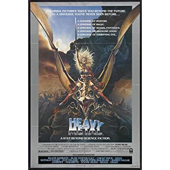 Heavy Metal Credits Movie Poster