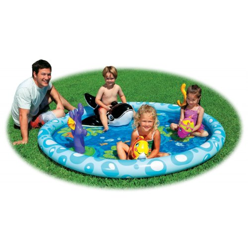 Inflatable Seascape Play Center Pool - Women's Center Avenues