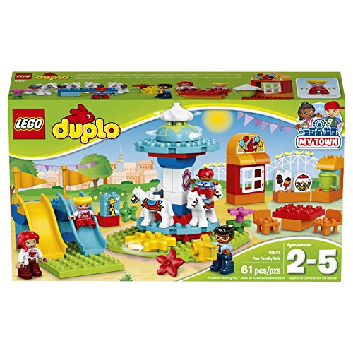 LEGO Duplo Town Fun Family Fair Building Kit, Multicolor