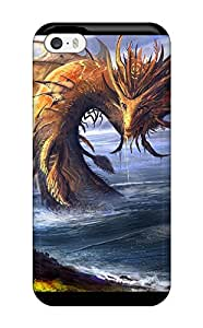Tpu Shockproof/dirt-proof Spotting The Dragon Cover Case For Iphone(5/5s)