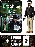 heisenberg action figure - Heisenberg: Funko ReAction x Breaking Bad Action Figure + 1 FREE Official Breaking Bad Trading Card Bundle (54083)