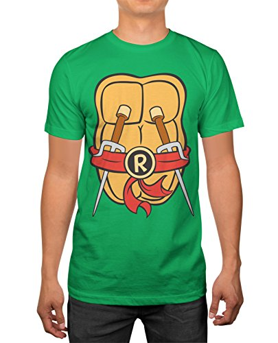 Teenage Mutant Ninja Turtles Mens Raphael Costume T-shirt